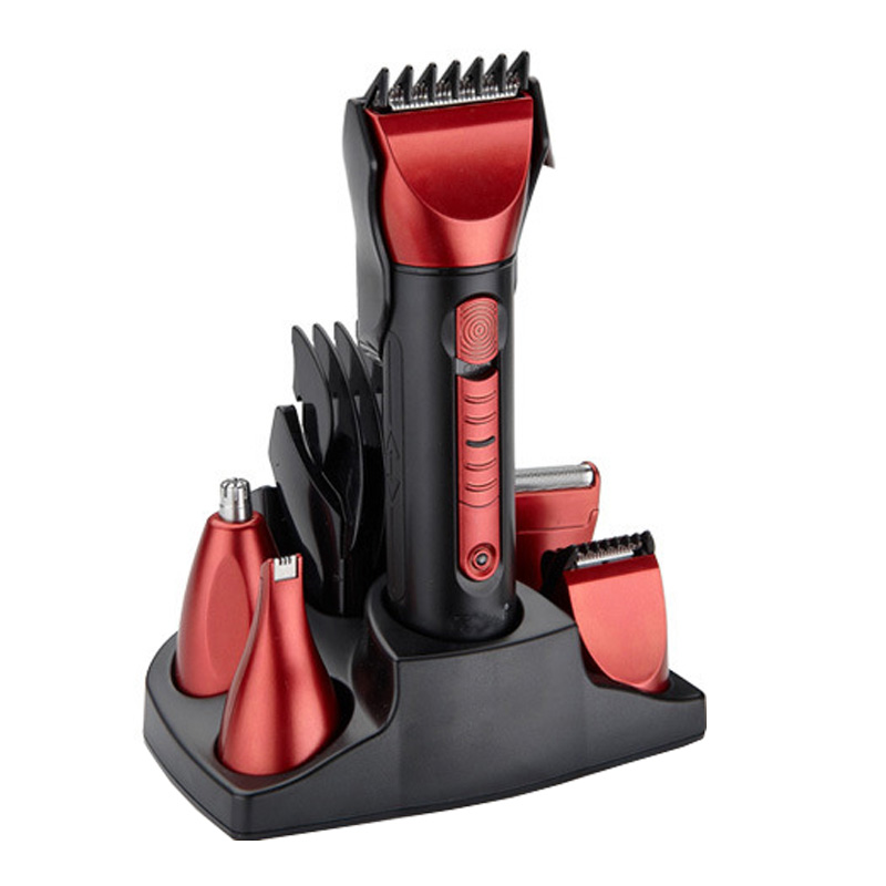 5in1 Full-body Men Trimmer Hair Clipper Trimer Electric Shaver Beard Nose Rechargeable Care Styling tools Set<br>