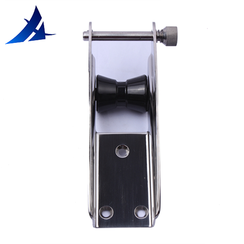 Heavy Duty Polished Stainless Steel Boat Yacht Bow Anchor Roller Mount 388mm
