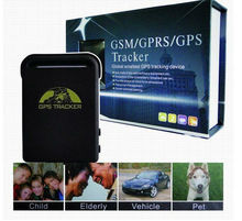 Free shipping(5pieces/lot) Wholesale and Retail REAL TIME GPS/GPRS/GSM TRACKER TK102(China)