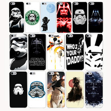3954CA Star Wars Hard Transparent Case Cover for iPhone 7 7 plus 4 4s 5 5s 5c SE 6 6s Plus case cover