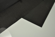 1pcs Hot Sale RC Parts 100mmX250mmX1mm 100% Carbon Fiber plate panel sheet 3K plain Weave Glossy Wholesale & Retail(China)