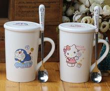 Cartoon Hello Kitty Doraemon Ceramic Home Coffee Mug Women Lady Girl Office Tea Cup 1 Pcs Only