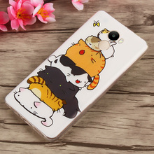 Xiaomi Redmi 4 Cartoon Painted Soft TPU Protective Cover Case For Xiaomi Redmi 4 Phone Cell #1121