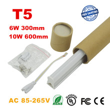 T5 Led Tube Light 300mm 600mm Integrated 0.3m 6W / 0.6m 10W Brightness Tube Lamp T5 Fluorescent light Tubes 220V 240V 85~265V