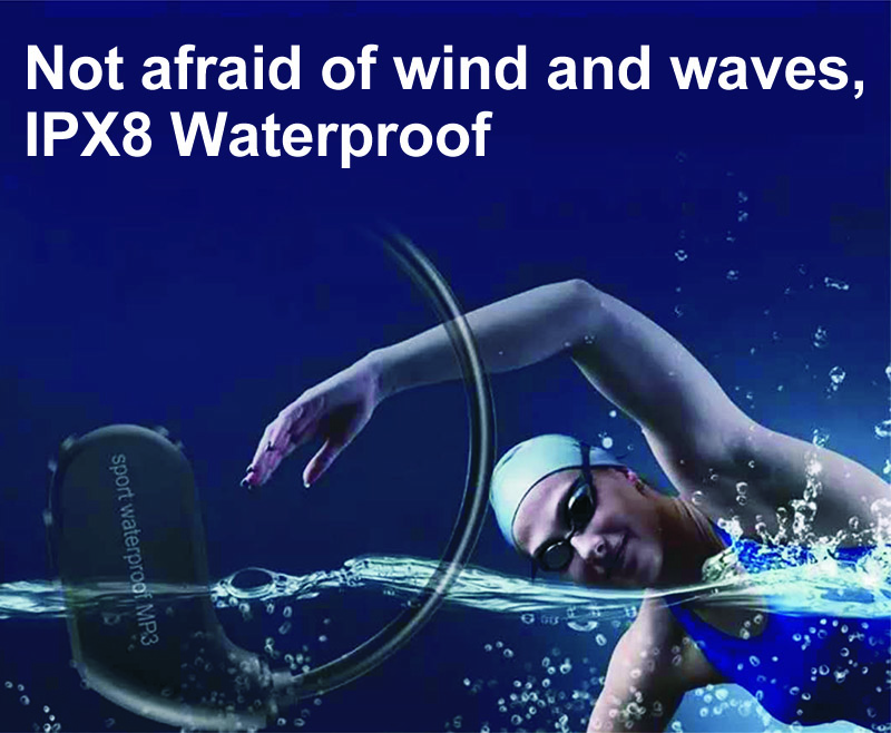 16.MP3 IPX8 Waterproof