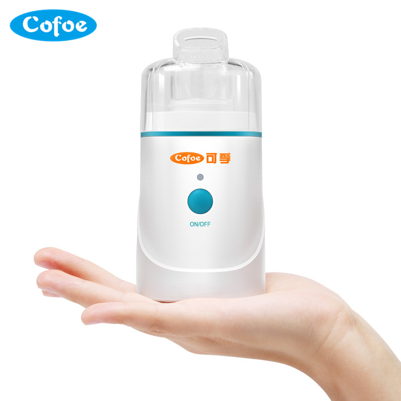 Cofoe Nebulizer Apply Advanced Piezoelectric Technique Innovation Home Health Care Portable Nhalation Therapy New Model<br>