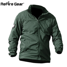 Summer Waterproof Quick Dry Tactical Skin Jacket Men UPF 50+ Breathable Hooded Raincoat Windbreaker Thin Army Military Jackets(China)