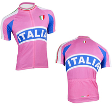 Popular sale bottom price italia sport cycling jersey maillot biking apparel ropa ciclismo bike clothes italy ink back pockets(China)