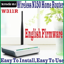 Tenda W311R Wireless-N 150M Wireless Router 150Mbps 802.11ngb WiFi 4 LAN Ports Broadband AP Router, NO COLOR BOX