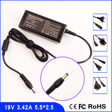 19V 3.42A Laptop Ac Adapter Power Charger + Cord for ASUS K U P A2 A3 A5 A6 A8 A9 B5 F2 F3 F5 F6 F9 L2 L3 L4 M2 M3 M6 M24 M52 N1(China)