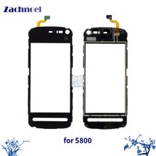 3.2'' Touch Panel for Nokia 5800 N5800 Touch Screen Digitizer Sensor Front Glass Lens Panel Touchscreen Replacement(China)