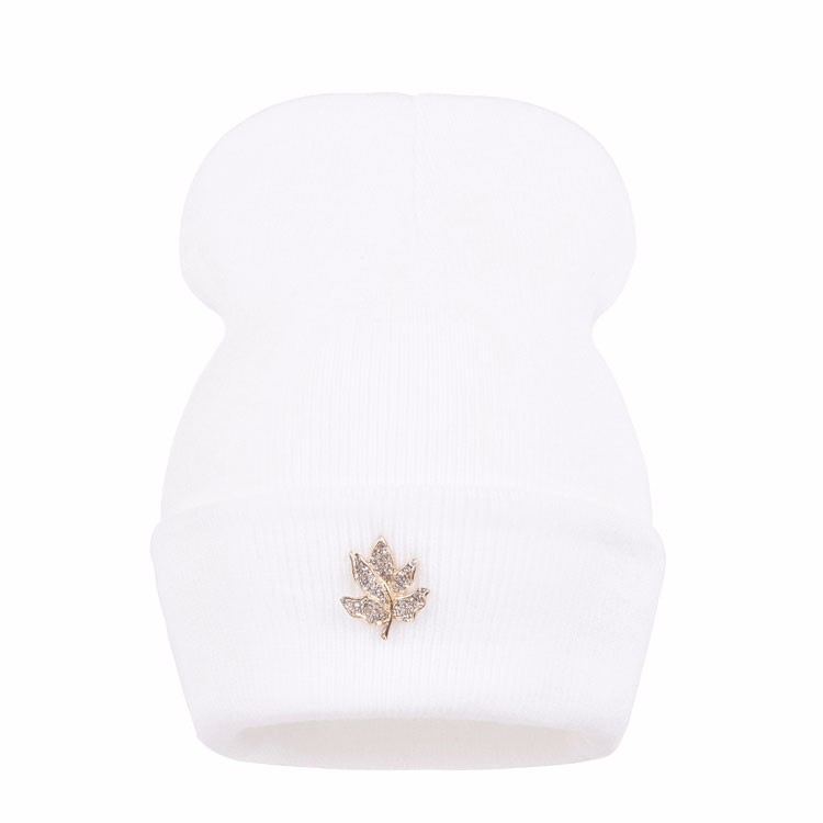 Ralferty Casual Crystal Leaf Beanie Winter Hats For Women Skullies Caps Female Chapeu Toca bonne gorras bonnet Cap Men Snowboard 13