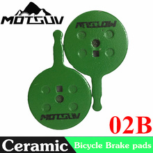 Bicycle Ceramics Disc Brake Pads for Line pulling Disc Brake AVID BB5, Giant, Merida Bike, Promax Bike Disc Brake Pads Parts