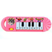 5 pack 1Pc Useful 0-7 age Baby Kids Popular Cute Toy Piano Music Developmental(China)