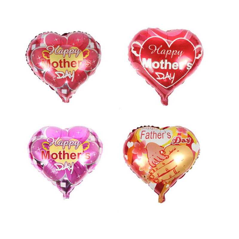 Father-and-mother-Love-heart-shape-Mama-balloons-happy-mother-s-day-Aluminum-Foil-balloon-mother