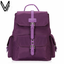 2016 VN Brand Korea New Fashion Waterproof Backpacks For Women Lady Drawstring Leather Backpacks Street Bags For Girls Hot Bags