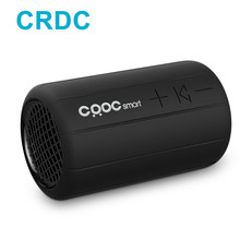 CRDC Bluetooth Speaker Mini Column Wireless Stereo Speakers Waterproof Portable Music Subwoofer Loudspeakers Handsfree For Bike