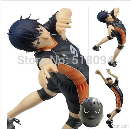Anime Cartoon Haikyuu!! kageyama Tobio PVC Action Figures Collectible Toy 17CM HKFG001<br>