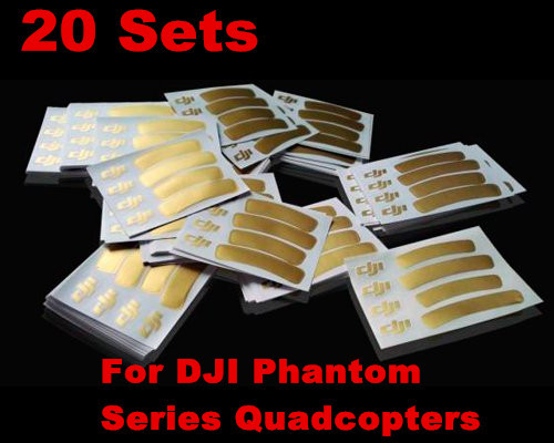 20sets Decal Skin Decoration Strip Ring Logo Stickers for DJI Phantom 3 2 Vision+ 1 Quadcopters<br><br>Aliexpress
