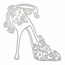 2018 High Heeled Shoes Metal Decorative Scrapbooking
