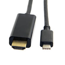1.8m USB-C Type C USB 3.1 to HDMI 4k 2k HDTV Cable for Samsung Galaxy S8 S8+ Plus Cell Phone(China)