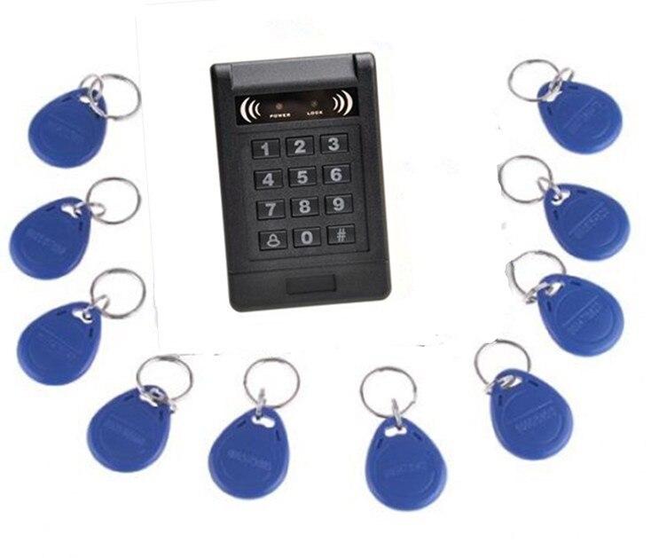 RFID Proximity Door Access Control System RFID/EM Keypad Access Control+10 PCS Key<br><br>Aliexpress