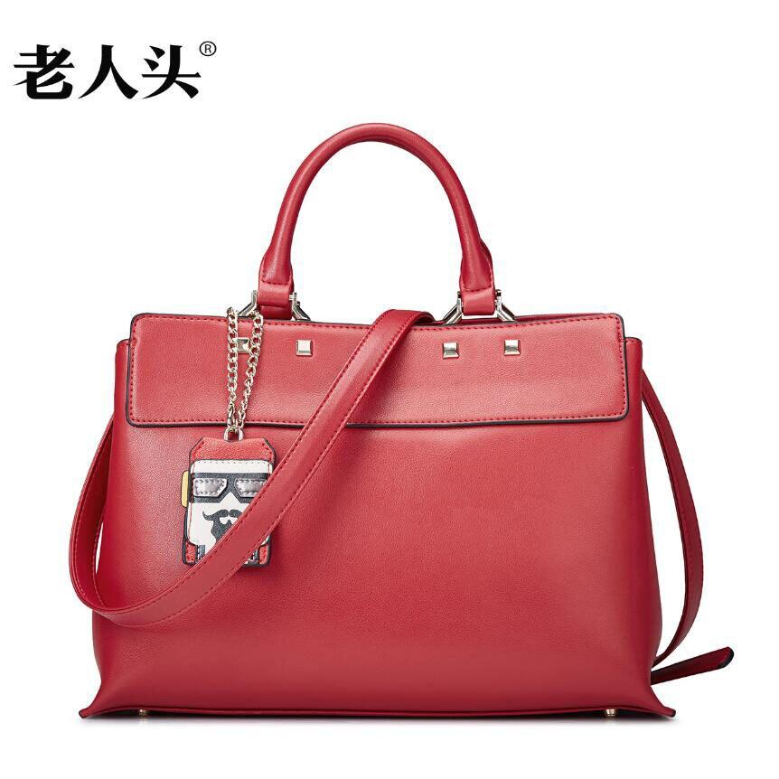 LAORENTOU 2016 New brand women leather bag fashion top quality women leather handbags shoulder bag leisure cowhide bag<br><br>Aliexpress