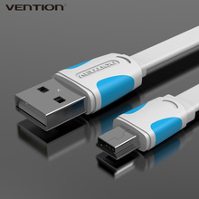 VENTION Multi-Function Mini USB Cable Sync Data USB2.0 OTG Charging Line T-port Portable For MP3 MP4 GPS Camera Cellphone Tablet