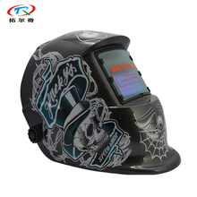 free Shipping Solar Power inner battery free ship safety Auto Darkening Welding Helmet DIN9-13 Welding Equipment HD12(2200DE)GY