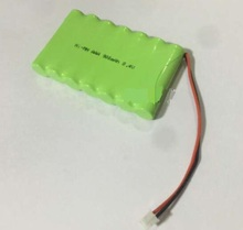Free shipping 8.4V AAA 800mAh ni-mh battery Rechargeable batteries The robot battery pack(China)