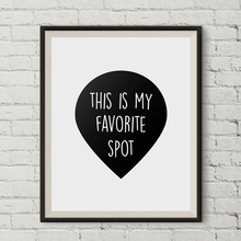 Favorite Spot Print Nursery Wall Art Canvas Painting Scandinavian Poster Black White Oil Pictures For Kids Living Room Unframed