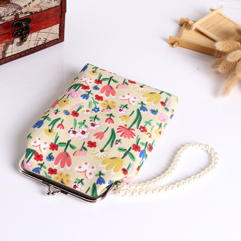 Excellent Quality Vintage Coin purse wallet bag coin pouch purses holder women coin wallet Hasp Purse Clutch Bag for 5.5 Phone<br><br>Aliexpress