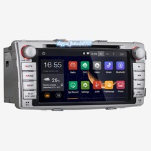 Quad Core Android 5.1.1 for toyota Hilux Car DVD Player 2012 2013 2014 car gps navi Hilux autoradion for toyota gps player