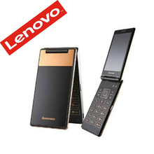 New Original Lenovo A588T Flip Cell Phone Android 4.4 MTK6582 Quad Core 1.3GHz 512MB RAM 4G ROM 5.0MP Camera 4.0inch 800*480P