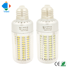 5X bombillas led e27 corn bulb 25W 360 Angle home lamp SMD5736 Epistar chip 130 leds 85-265v warm white Pc cover indoor lighting(China)