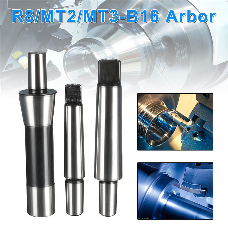 1/32- 1/2 Lathe Drill Chuck 1-13mm Self Tighten R8/MT2/MT3-B16 Arbor For Keyless  Lathes Drilling Machine<br>