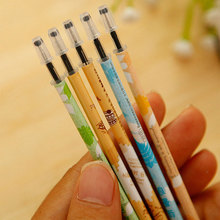 MEIKENG 20Pcs 0.35MM Black Color Gel Pen Needle Tube Pen For Core Neutral Pen Korea Creative Stationery Office School Use