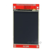 "J34 F85 240x320 2.8"" SPI TFT LCD Touch Panel Serial Port Module with PCB ILI9341 5V/3.3V(China)"