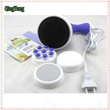 Body Massager.Slimming Diet Headers Face Skin Care Relax Spin Spa Massage.Eletric Cell Roller Lose Weight Burn Fat Massager(China)