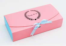 1-18 Alice, 20pcs/lot Packing Food Carton Boxes, Cookies Boxes, Chocolate Packaging Box, Wedding Gift Box for Guest