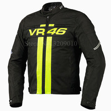 Hot Sale Motorcycle Jackets VR46 Rossi MotoGP Off Road Racing Breathable Reflective Jacket Motorbike motocross protective jacket(China)