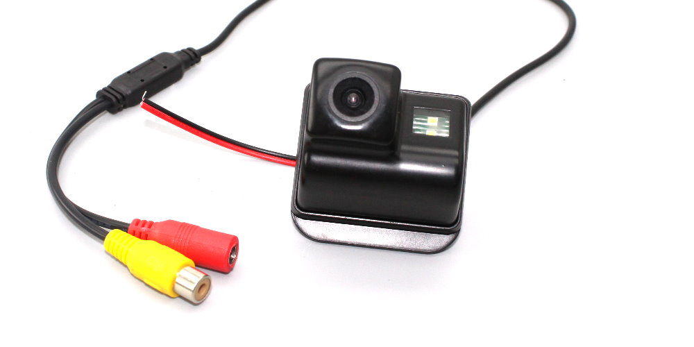 Liandlee For Mazda 3 SP23 Mazda3 Sendan 2007~2012 Car Reverse Camera Rear View Backup Parking Camera Integrated High Quality 7