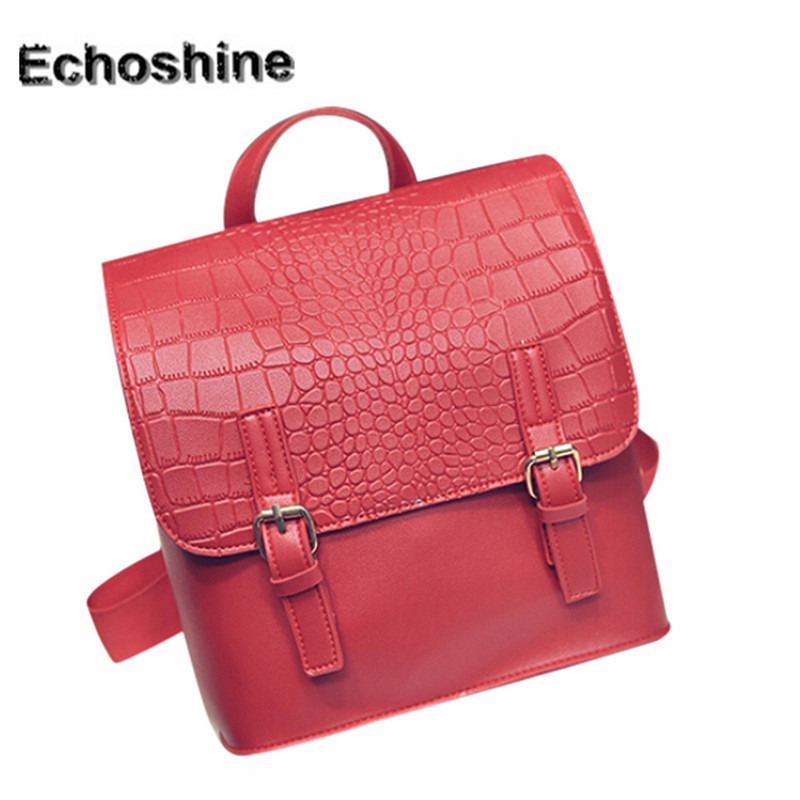 2016 hot sale very popular Women Leather Backpacks Schoolbags Travel Shoulder Bag mochila feminine gift wholesale <br><br>Aliexpress
