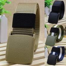 Handsome Cool Men's Fashion Practical Tactical Military Nylon Buckle Waist Belt Waistband
