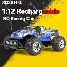 1:12 Rechargeable 2CH Radio RC Racing Car Drifting Model Truck Buggy New A Free