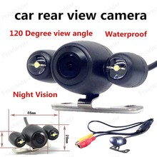 best selling Night Vision Reverse camera CCD Car Rear View Backup Camera 120 Degree view angle Waterproof