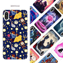 Buy BINYEAE Beauty Beast Hard White Phone Case Cover Coque Shell iPhone X 6 6S 7 8 Plus 5 5S SE 4 4S 5C for $1.49 in AliExpress store