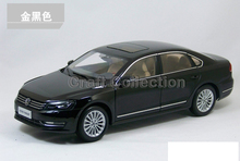 Black 2011 1:18 Volkswagen German VW Passat Die Cast Model Car Metal Sedan Model Festival Gifts Mini Vehicle