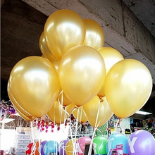 100 Pcs 10 Inch 1.5g Plain Latex Balloons Wedding Birthday Party Decorations Children Kid'S Toy New Year Outdoor Decoration