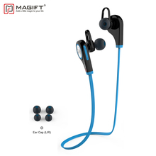 Magift6 Bluetooth Wireless Earphone With Micphone Handsfree for Smartphone Sports Noise Cancelling Stereo Bluetooth Earphones(China)